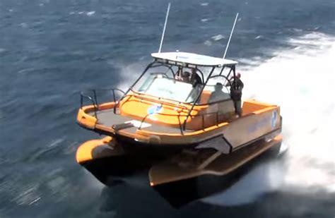 Catamaran Boat Suspension by Smooth Operators Nauti Craft Boats