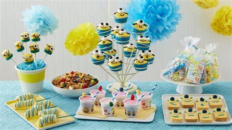 minion birthday party bettycrockercom