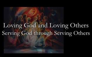 And Serve God by Serving Others