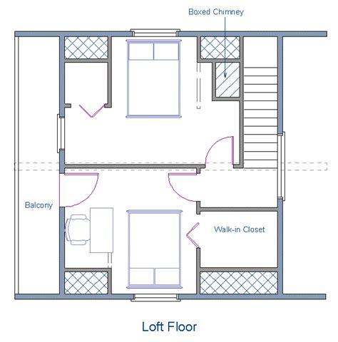 cabin with loft floor plans floor plan 24x20 sqft cottage b