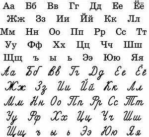 Absolute beginners Learning Cyrillic alphabet - Paris ...