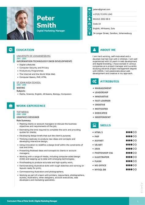 Best Cv Models by Professional Resume Elite Cv Professional Cv Services