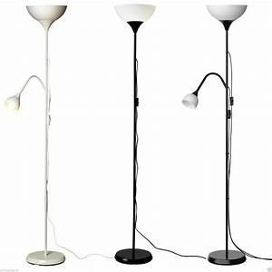 Stehlampe Led Ikea : ikea not deckenfluter leselampe stehlampe standleuchte schwarz wei ebay ~ Orissabook.com Haus und Dekorationen