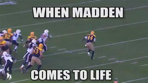 Madden Meme - when madden comes to life meme week 6 nfl youtube