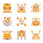 Monster Icons Vector