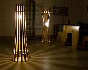 40 interior lighting tips and design to brighten your home for Woobie wooden floor lamp design ideas