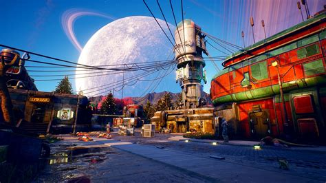 outer worlds obsidian entertainment immagini