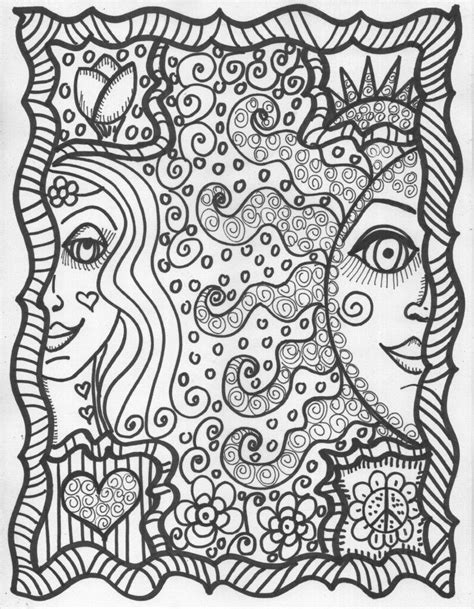 Pin by Stina on Hippie Coloring Pages   Star coloring