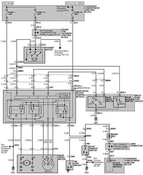 Free Wiring Diagram 2003 Hyundai Santum Fe by Repair Guides