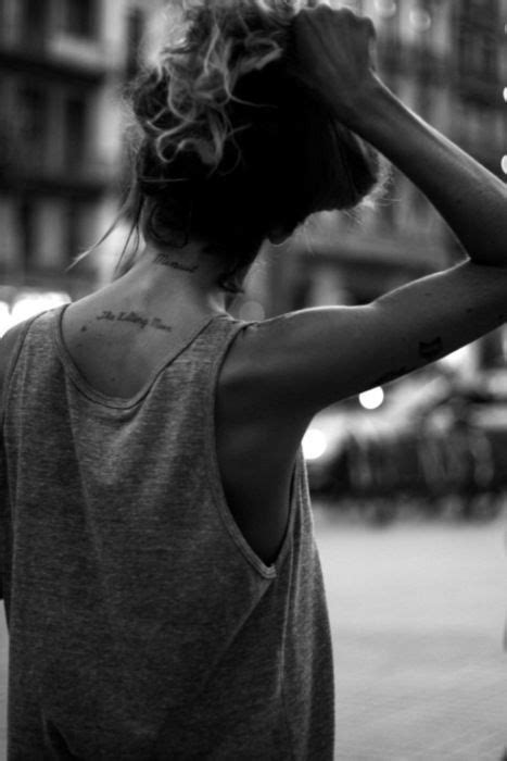 Ive always wanted a little tattoo on the back of my neck