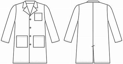 Science Coat Lab Clipart Doctor Labcoat Scientist