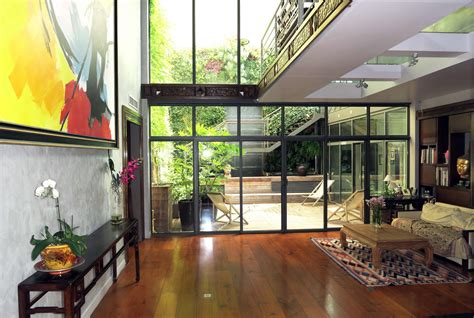 cuisine aménagé 17e loft comme une maison de 330 m avec patio intérieur 4 chambres patrice lalonde
