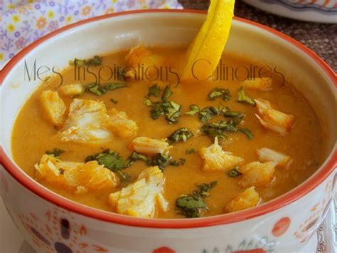 cuisine lotte soupe de fenouil chorba de poisson le cuisine de