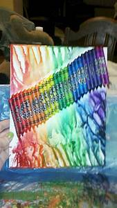 My, Melted, Crayon, Art, I, Made, Today