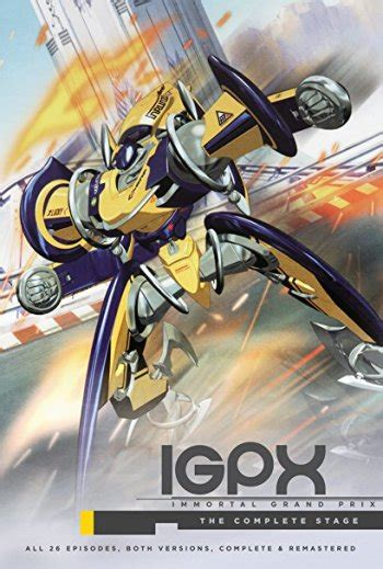 igpx immortal grand prix  season anime planet