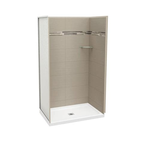 Maax Shower Stalls Installation - maax utile origin 32 in x 48 in x 83 5 in alcove shower