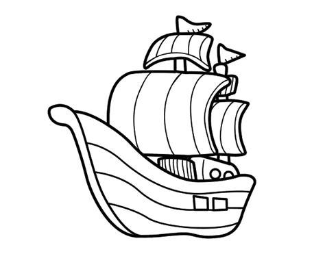Barcos Para Dibujar Y Colorear by Dibujo De Barco De Corsarios Para Colorear Dibujos Net