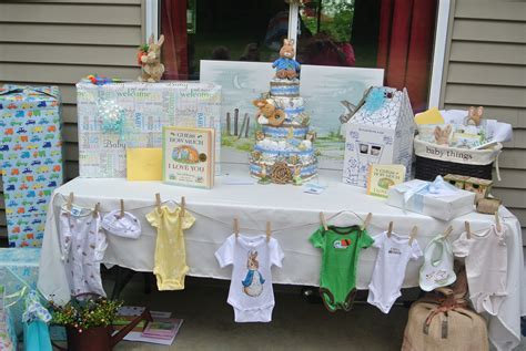 baby shower tables baby shower gift table baby shower pinterest
