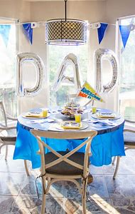 Fathers Day Party Decoration Ideas