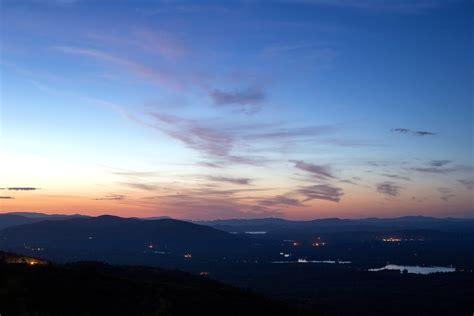 picture dusk nature landscape sunset sky clouds