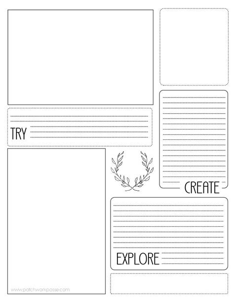Sewing Project Printable Planner | AllFreeSewing.com