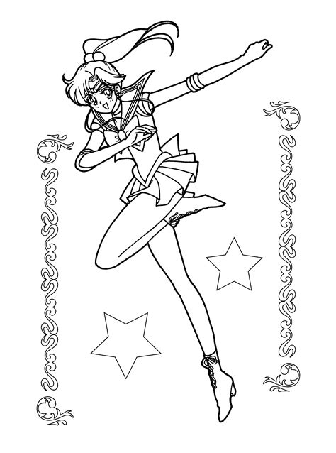coloring pages sailor moon animated images gifs