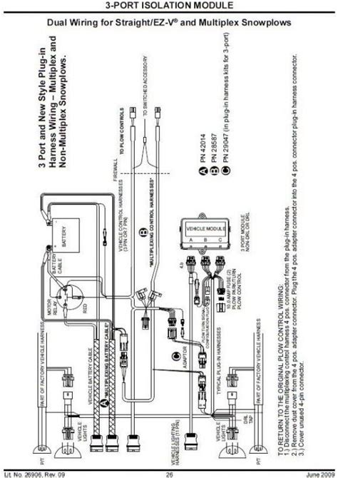 Fisher Plow Port Isolation Module Wiring Diagram