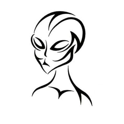 tribal alien tattoo design cool art picture image tattoowoocom