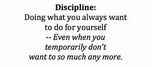 Discipline: It's Training, Not A Trick. - the Self Help ...