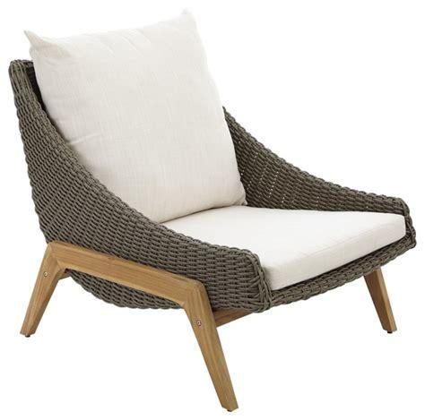 retro rattan effect coffee chair contemporary garden