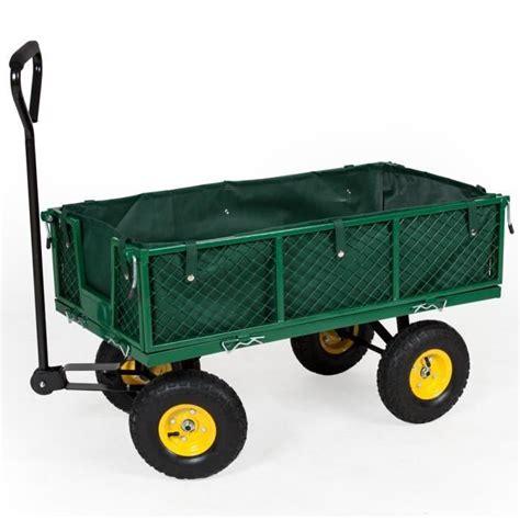Chariot De Jardin 4 Roues ⇒ Comparatif Des Meilleurs Modèles