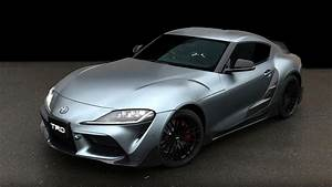 Trd Has Modified The New Toyota Supra  And This Is It
