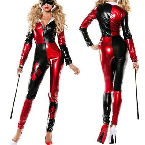 harley quinn jumpsuit costume harley quinn costume bodysuit catsuit