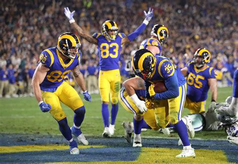 los angeles rams uniforms  nfc championship game