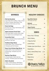 Irish Breakfast Menu Ideas