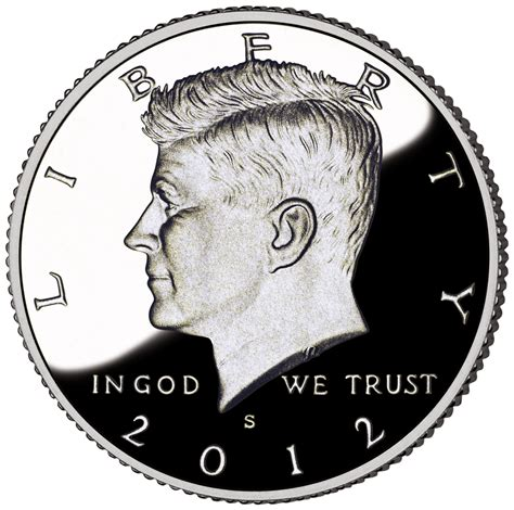 kennedy half dollar 2012 john f kennedy half dollar proof the coinologist