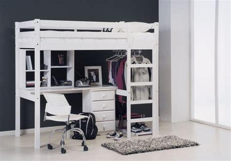 lit mezzanine avec bureau pour plus de praticit 233 lit mezzanine enfant
