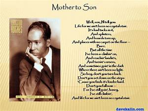 Mother to Son — Langston Hughes | Silk Roads and Siamese ...