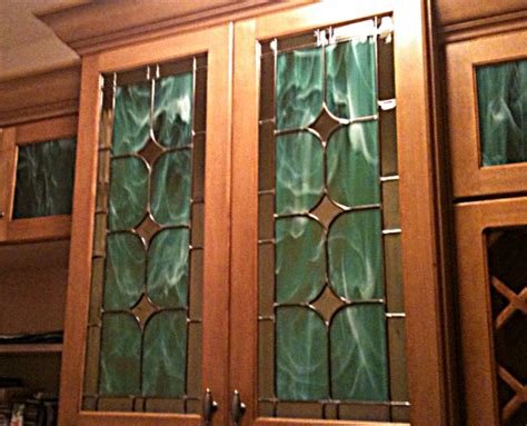 leaded glass for kitchen cabinets custom glass home work grand central stained glass 8927