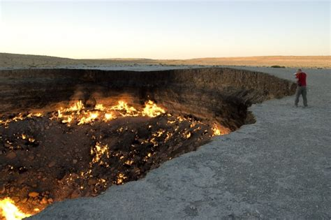 la porte de l enfer darvaza turkm 233 nistan