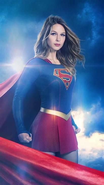 Supergirl Phone Wallpapers Season Benoist Melissa Superman