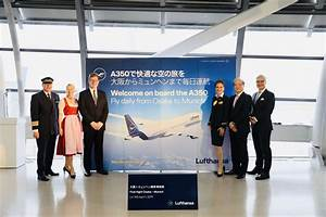 Lufthansa, German, Airlines, Launches, Osaka-munich, Route