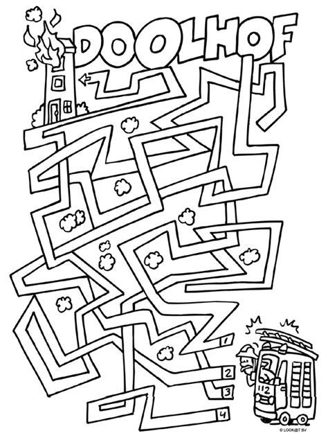 Herfst Kleurplaat Bovenbouw by Kleurplaat Beroepen Bovenbouw Zoeken Educate
