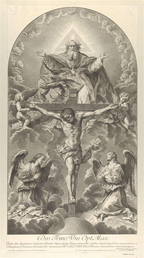 sir nicolas dorigny  holy trinity christ