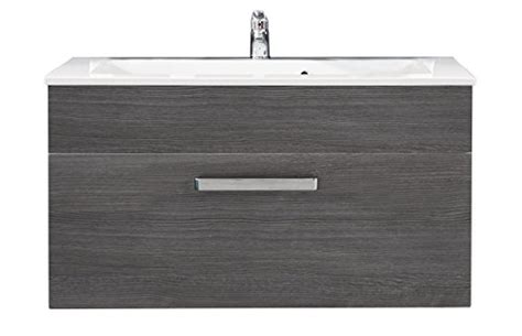 Furnline Bathroom Wall Hanging Under Sink Cabinet With