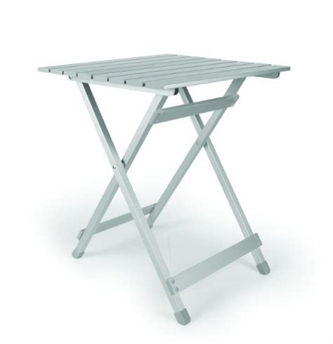 rv kitchen table parts camco 51891 aluminum fold away side table large rv