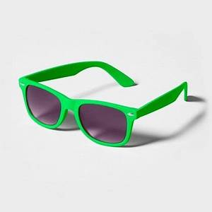 Stand out this summer in neon green Bright Rubberized