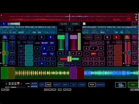navigate virtual dj  emulator pro multi touch surface  touch screen youtube
