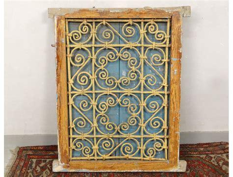 le marocaine fer forge fen 234 tre marocaine grille fer forg 233 bois peint maroc maghreb atlas d 233 co xx 232