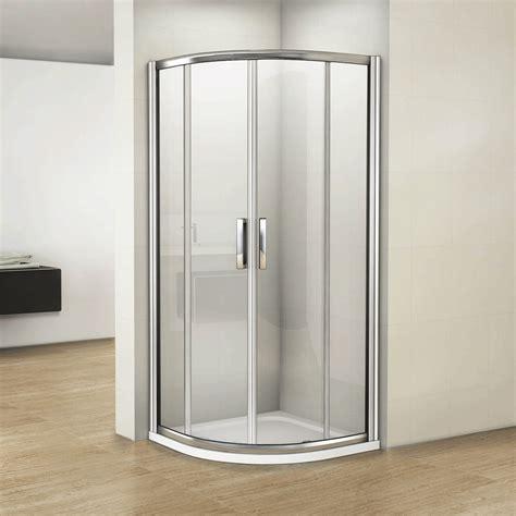 luxury quadrant shower enclosure easy clean mm glass